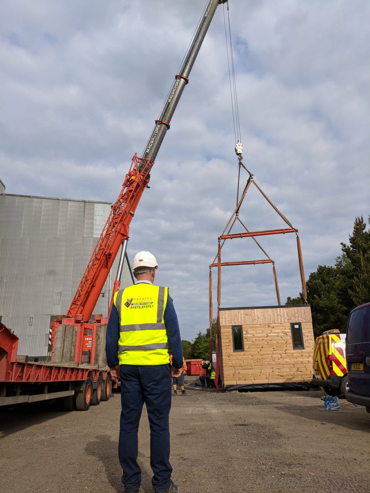 What are the benefits of modular build?