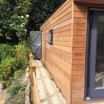 Helston garden box with rear storage