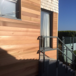 BWF cedar extension & cladding
