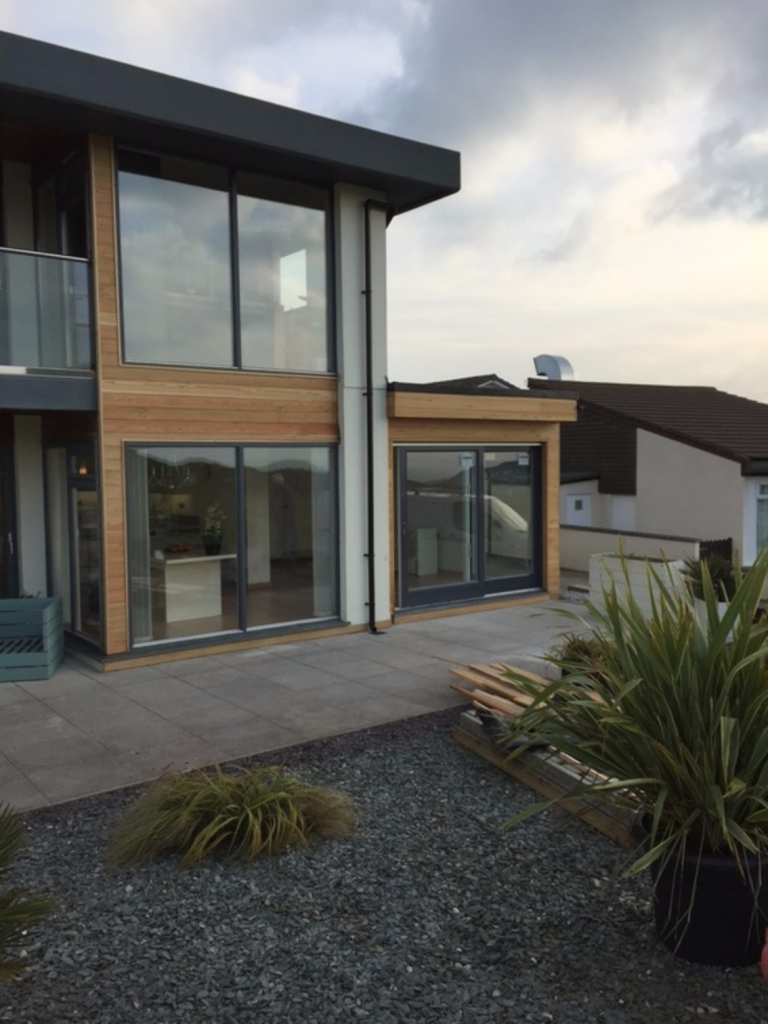 Perranporth, contemporary extension – stunning views